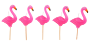 Sunnylife Party Kakelys Flamingo, 5stk/pk (439-SUGCAKFL)