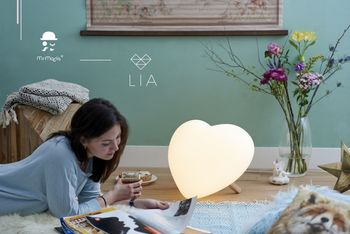 Mr Maria Lia LED Lampe Hjerte