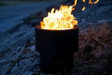 Flammetønna™ Bålpanne Sort - 35cm (441-FLT-STARTKIT)