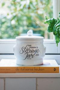 "Riviera Maison Oppbevaringskrukke ""The Perfect Jar""_liten (443-324750)"