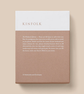 "Kinfolk Kort ""The Weekend"" Edition (440-1066)"