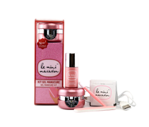 Le Mini Macaron Manicure Kit, Rose Gold