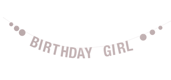 "Bloomingville Mini Girlander - ""Birthday Girl"""