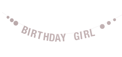 "Bloomingville Mini Girlander - ""Birthday Girl"" (152-95146306)"