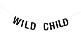 "Bloomingville Mini Girlander - ""Wild Child"""