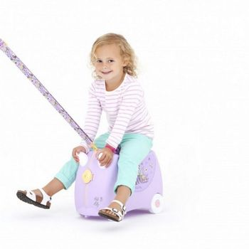 Trunki Barnekoffert Hello Kitty, Lilla (107-0187-GB01)