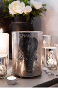 Majas Lyktor Lanterne Elefant, Antikk/Nikkel