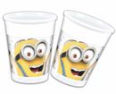 Minions Party Plastkopper, 200ml (8 stk)