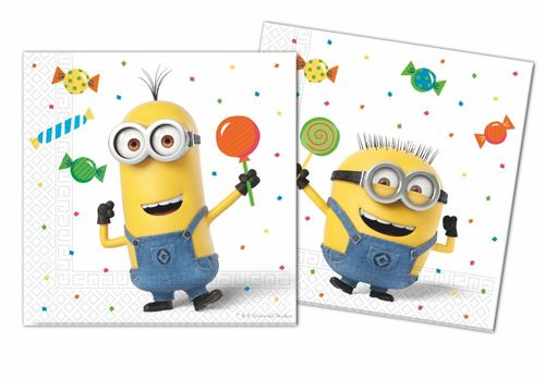 Minions Party Servietter - 20 stk (126-88176)
