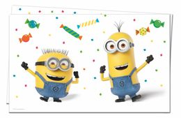 Minions Party Plastduk str. 120x180 cm