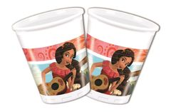 Elena Of Avalor Plastkopper, 200ml (8 stk)
