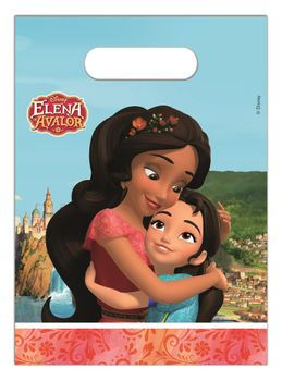 Elena Of Avalor Godteposer m/motiv, (6 pk) (126-87470)