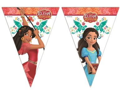 Elena Of Avalor Triangel flaggbanner,  1 stk (126-87959)