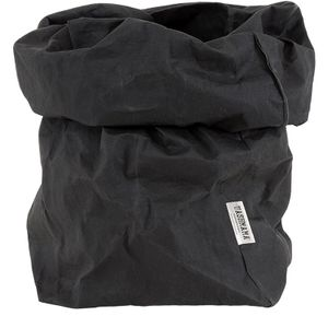 Uashmama Giant Paper Bag, Sort (199-GBLK)