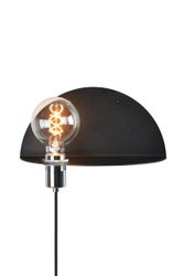 Globen Lighting Vegglampe Walldorf - Sort