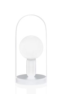 Globen Lighting Bordlampe Carrie - Hvit (205-423208)