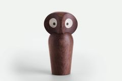 ArchitectMade Paul Anker Owl Small_Smoked
