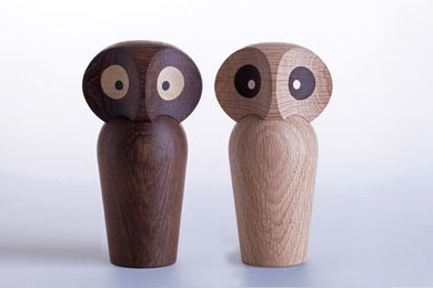 ArchitectMade Paul Anker Owl Small_Smoked (452-465)