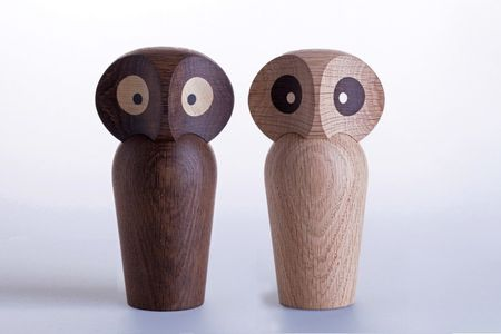 ArchitectMade Paul Anker Owl Smoked_H17cm (452-475)