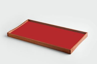 ArchitectMade Finn Juhl TurningTray Small_Rød (452-702)