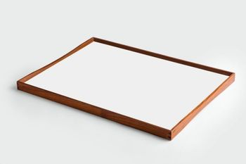ArchitectMade Finn Juhl TurningTray Large_Hvit