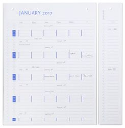 by Wirth Planner Board Refill 2018-2019