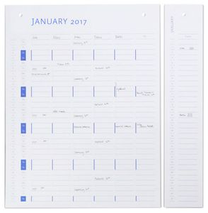 by Wirth Planner Board Refill 2018-2019 (450-141)