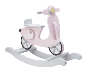 Kids Concept Gyngescooter Vespa - Rosa (367-1000159)