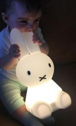 Mr Maria Miffy First-Light Myk Lampe