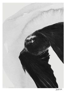 "Anna Bülow Poster ""Flight"" - 50x70cm (385-5070044)"