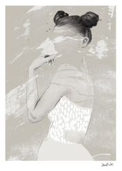 "Anna Bülow Poster ""See Through"", 50x70cm"