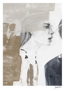 "Anna Bülow Poster ""Whispers"" - 50x70cm (385-5070048)"