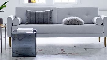 Bloomingville Calm Sofa, Grå Bomull
