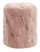 Nordal Puff i Velour_Dusty Rose