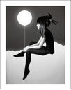 "Ruben Ireland Poster ""...by night"", 50x70cm"