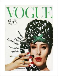 Vogue Poster March 1960, 60x46cm (365-VC305P)