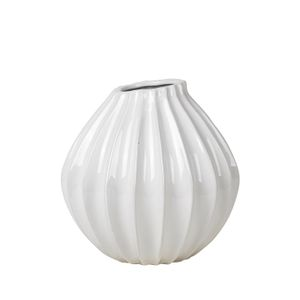 Broste Copenhagen Vase Wide Ivory, Medium (190-14445214)