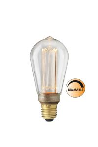 Globen Lighting Lyspære LED Filament Klar_64mm (205-L212)