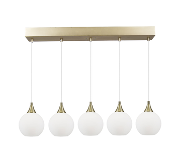 Globen Lighting Lampependel Pallas 5, Hvit (205-673908)