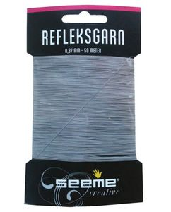 Seeme Refleksgarn,  50 meter (0.37mm) (480-58792)