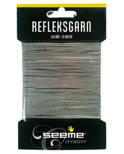 Seeme Refleksgarn,  25 meter (0.8mm) (480-58587)