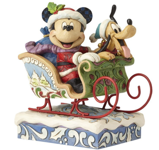 "Disney Mikke & Pluto ""Laughing-All-The-Way-Home"" (481-k2-4052003)"