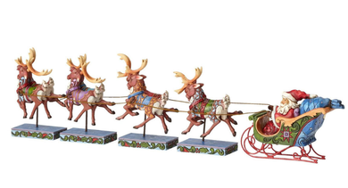 Disney Mini Santa Reindeer Set (481-K2-4055048)
