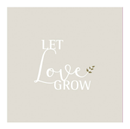 "räder Servietter ""Let Love Grow""_20stk"