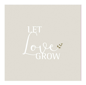 "räder Servietter ""Let Love Grow""_20stk (197-13803)"