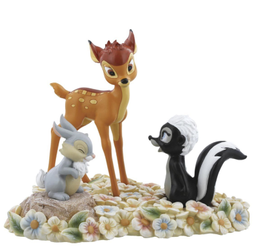 Disney Bambi & Trampe_Pretty Flower