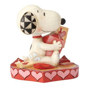 "Jim Shore Snoopy - ""Puppy love"" (481-k29-405565)"
