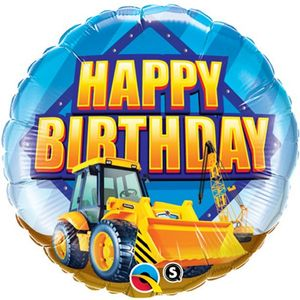 Party Store Maskiner Ballong - Happy Birthday (332-FOIL1239)