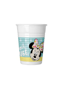 Minnie Mus Tropical Plastkopper,  200ml (8 stk) (126-89231)