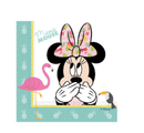 Minnie Mus Tropical Servietter - 20 stk